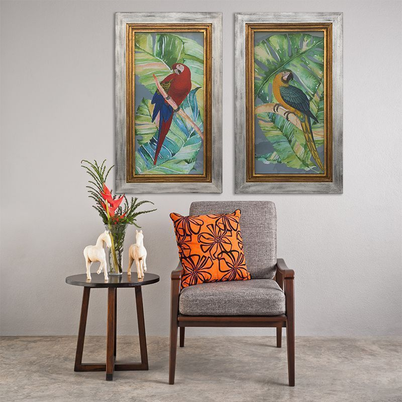 Colonial un estilo en decoraci n acierta con los complementos - Cuadros estilo colonial ...