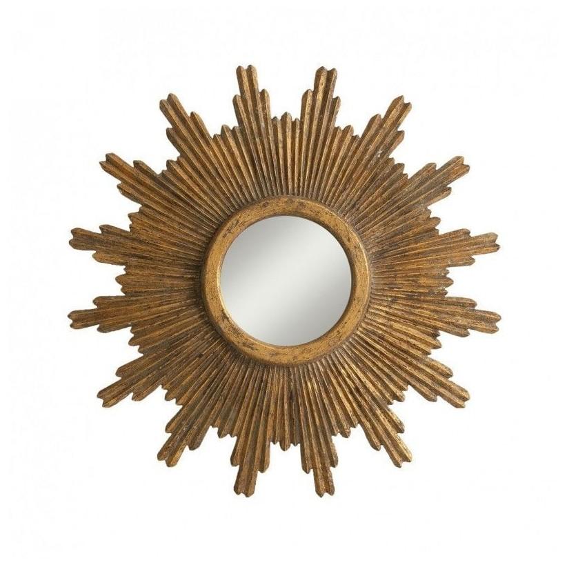 Tienda de decoraci n cuadros y espejos espejos - Espejo sol dorado ...