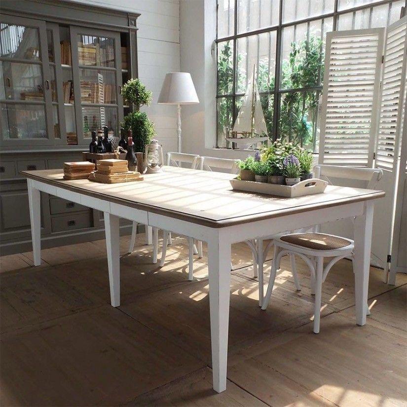Mesa de comedor vintage originales mesas de comedor for Comedor blanco vintage