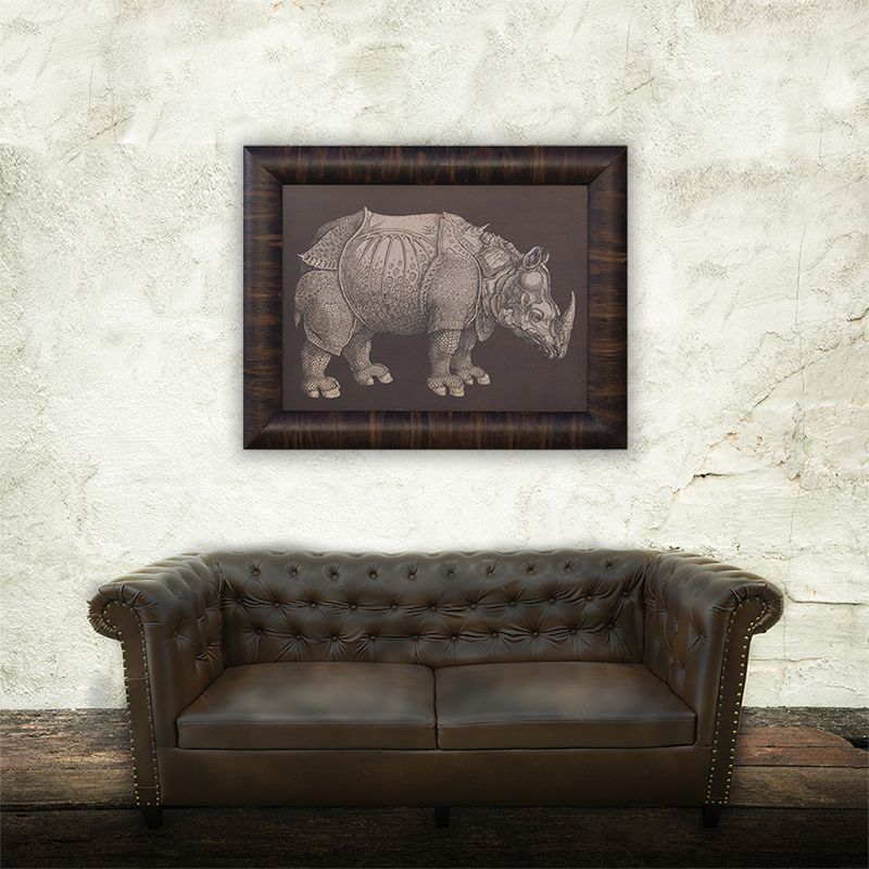 Cuadro rinoceronte