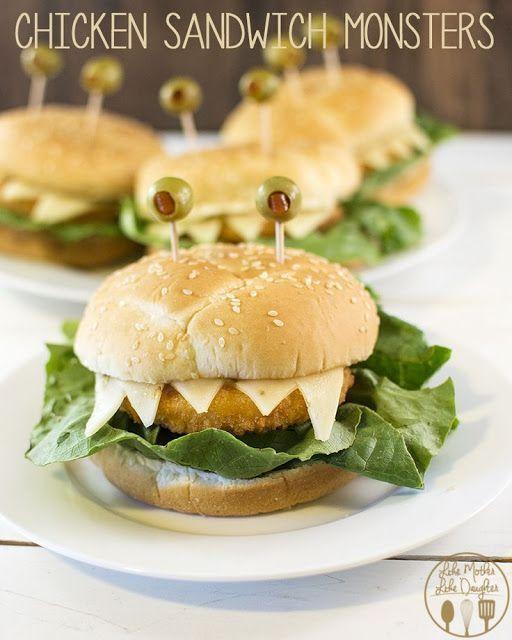 hamburguesas halloween
